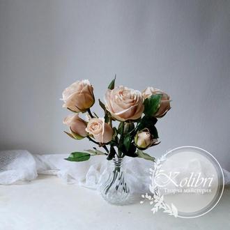 Букет роз, декор интерьера