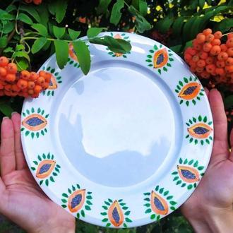 Тарелки обеденные, тарелки на 6 персон, подарочные тарелки, фарфоровые тарелки