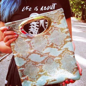 Авторская сумка из натуральной кожи
