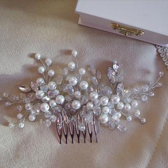Гребешок для волос, веточка для невесты, свадебное украшение для невесты