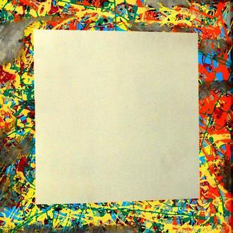 Field square Mirror by Sakhanskyi Полевой квадрат №6179