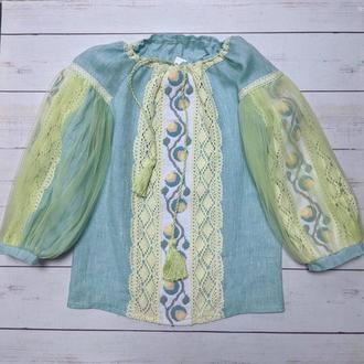 Вишиванка, сорочка з вишивкою бісером