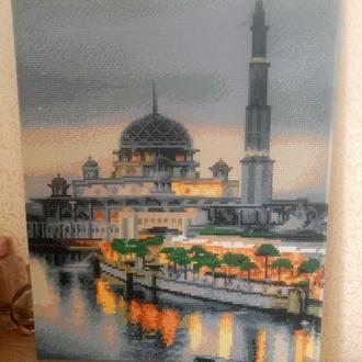 Картина Tulip Mosque Алмазная мозаика