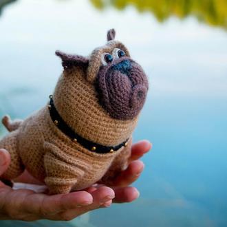 Мопс - интерьерная игрушка
