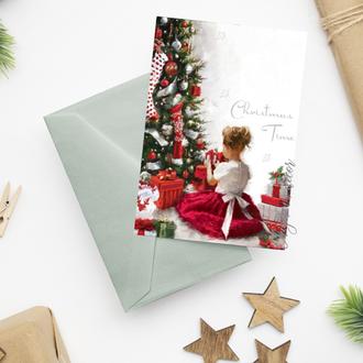 """Рождественская открытка """"Рождественское утро"""""""
