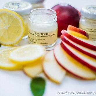 Пілінг-маска для обличчя з фруктовими кислотами (ексфоліант), 40 ml