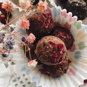 Натуральные конфеты из сухофруктов Berry mix