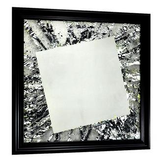 Дизайнерское зеркало картина Чёрный Иний №6170