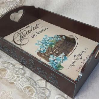 """Піднос """"Chocolat de Paris"""""""