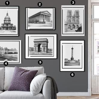 Сет постеров - Стрые снимк архетектуры
