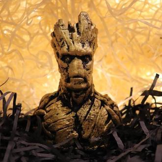 Гипсовая Статуэтка - Подарок 🎁 Грута из Marvel - Groot Марвел ✅