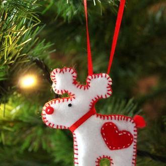 """Новогодняя игрушка на ёлку """"Олень"""""""