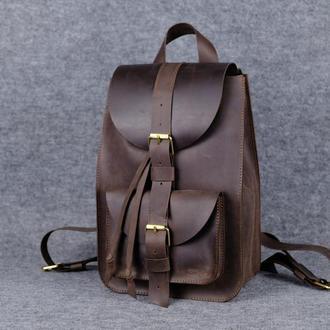 Рюкзак средний|11907| Коричневый
