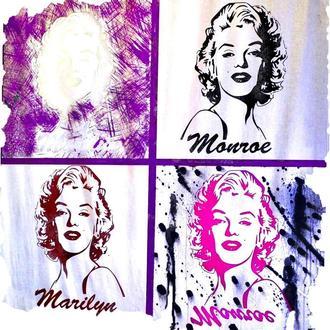 Картина за дзеркалом Мерилін Монро Marilyn Monroe Andy Warhol №3311