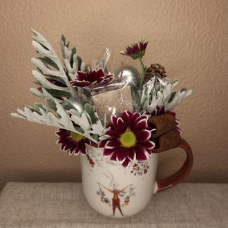 Подарочный набор в чашке