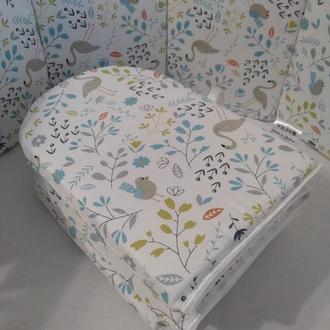 Бортики в детскую кроватку (заборчик)