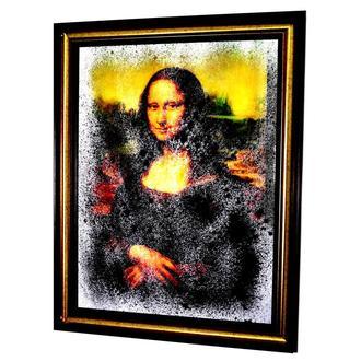 Картина за зеркалом Mona Liza №514