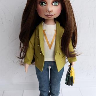 Портретная кукла. Кукла по фотографии. Тильда