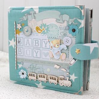Альбом  для мальчика , фотоальбом для малыша в наличии