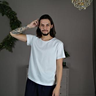 Мужская футболка из натурального льна