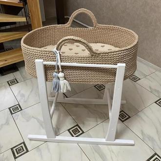 Люлька для новонародженого . В'язана колиска для дитини