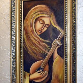 Музика вітру 1, живопис, розмір 20х40см