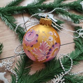Украшение на елку новогодние шары