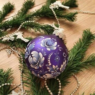 Новогодние шары на елку