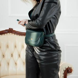 Waist bag Mira green (артикул: wb014.5)