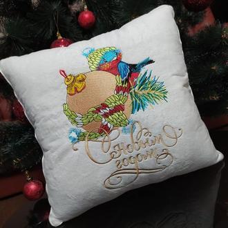 Подушка с новым годом