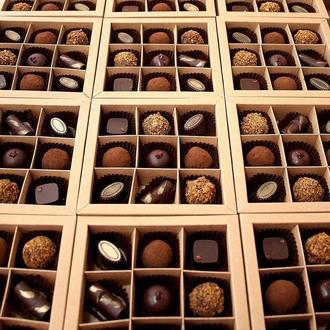 Конфеты с сыром в шоколаде, 1 коробка