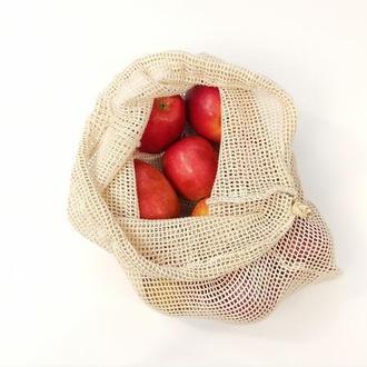 экомишечок, экоторбинка из органического хлопка, сетка для продуктов