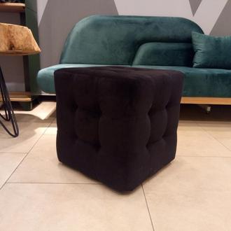 Пуф квадратный Куб 45х45 см черный Trinity 16