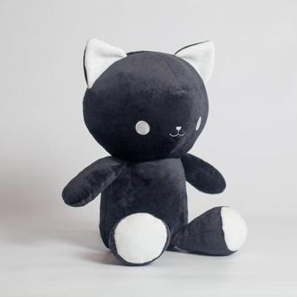 """Игрушка """"Котенок Айси"""", черный."""