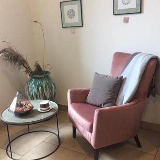 Крісло Classic рожеве