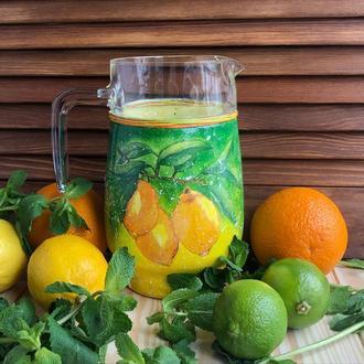 Глечик з лимонами