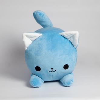 """Валик """"Котенок Айси"""", голубой."""