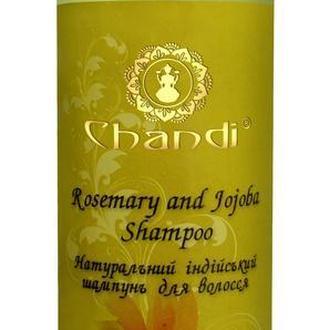 "Chandi индийский шампунь ""Жожоба и Розмарин"""
