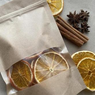Фрипсы апельсина, фруктовые чипсы, полезный перекус