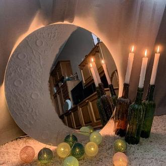 Зеркало-месяц с подсветкой и WiFi управлением