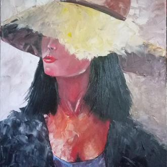Дама в соломенной шляпе
