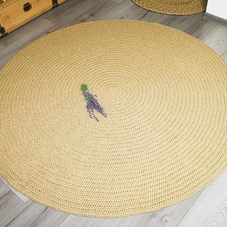Коврик, Коврик из джута, циновка круглая (160cм)