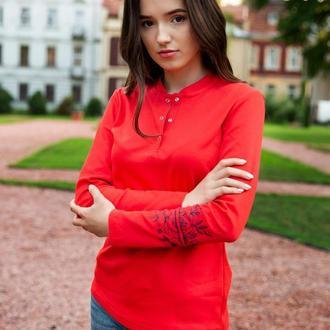 Джемпер красный Tattoo-Роза S
