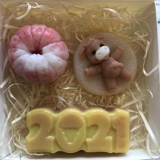 Новогодний подарочный набор мыл!