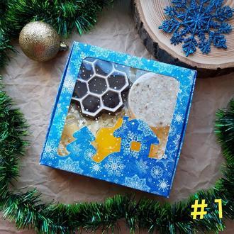 Медовое мыло набор в подарочной коробке