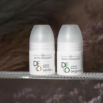 Натуральный дезодорант White Mandarin Deo Bergamot