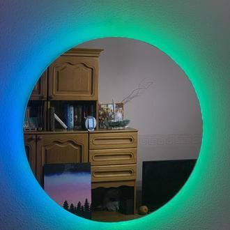 Дзеркало з підсвіткою і WiFi управлінням