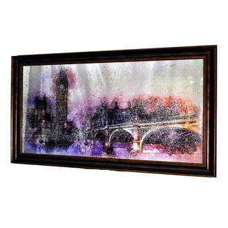 Картина за зістареннім дзеркалом London Grundge №2005