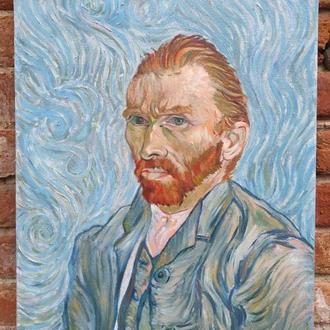 Картина маслом портрет Ван Гога