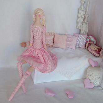 Кукла Тильда Мила 48см